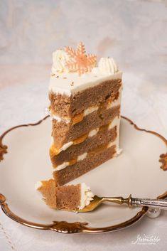 Eggnog-Orangen Torte - Maren Lubbe - Feine Köstlichkeiten Eggnog Rezept, Cupcakes, Vanilla Cake, Tiramisu, Delish, Ethnic Recipes, Food, Muffins, Tea Time