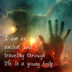 Your body is the vehicle to allow you to travel through and experience this lifetime, gaining new perspectives.