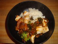 Ma-po Garlic Mustard and Tofu