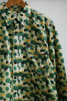 KATO camouflage pattern work shirts
