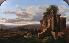 Ruins, Lluís Rigalt, 1865