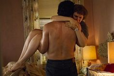 """Adam Driver and Lena Dunham portary the charactes of Adam Sackler and Hannah Horvath respectively in the tv show """"Girls"""". this is a photo still from the final episode of season 2......."""