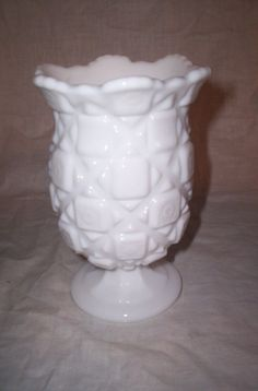 vintage westmoreland milk glass vase by robinsvintage on Etsy, $6.00