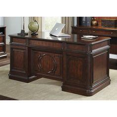 Brayton Manor Cherry Executive Desk