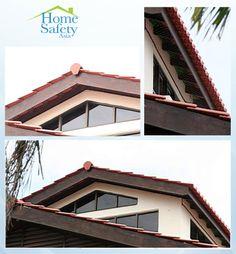 NetzenKit the best protection anti birds! Dont worry, be happy! Childproofing, Garage Doors, Birds, World, Happy, Outdoor Decor, Home Decor, Decoration Home, Room Decor