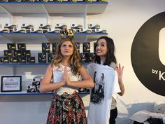 Can you believe Hollstein came by our pop-up Period Shop in NYC? They signed shirts and looked so fashionable while they did it! Repin if you are wearing your limited edition Carmilla shirt right now!