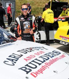 """Awesome job today!  CJ Faison was leaning against his race car on pit road following the Buckle Up 200 Xfinity Series race at Dover International Speedway when a group of fans in the grandstands got together and screamed """"Way to go CJ!""""  Faison, a native of Seaford, gave them his approval with a thumbs up following a satisfying hot day on Dover's high-banked, one-mile race track this afternoon.  Faison finished 23rd in his first-ever Xfinity race and said it felt like a victory considering…"""