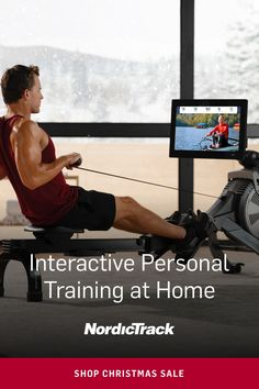 Get Interactive Personal Training at Home on the NordicTrack Rower Cross Training Workouts, Body Training, Combat Training, Natural Cough Remedies, Herbal Remedies, Fitness Goals, Health Fitness, Fitness Brand, Health Benefits