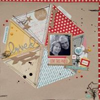 A Project by *Kristine* from our Scrapbooking Gallery originally submitted 11/24/13 at 02:50 PM