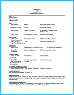 actor resume samples achieve your dream how write acting examplespincloutcom templates and pinclout