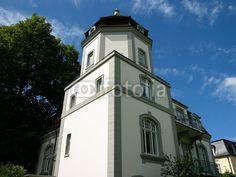 Villa im Neobarock in Oerlinghausen im Teutoburger Wald bei Bielefeld in Ostwestfalen-Lippe