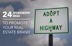 See 24 creative sponsorship opportunities to enhance your real estate brand and marketing in your local market. http://plcstr.com/1GDa3lU #realestate #marketing