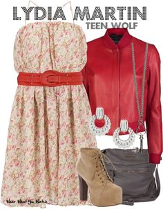 Inspired by Holland Roden as Lydia Martin on MTV's Teen Wolf.