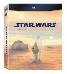 Star Wars: The Complete Blu-ray Saga will feature all six live-action Star Wars feature films utilizing the highest possible picture and audio presentation.  Star Wars Episode I: The Phantom Menace (32 Years Before Episode IV) Stranded on the desert planet Tatooine after rescuing young Queen Amidala from the impending invasion of Naboo, Jedi apprentice Obi-Wan Kenobi and his Jedi Master discover nine-year-old Anakin Skywalker, a young