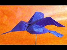 Origami Hummingbird - YouTube