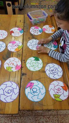 Lock & Key Addition Puzzles for Kids - fun hands-on STEM math idea! Math Classroom, Kindergarten Math, Teaching Math, Math Math, Math Games, Preschool Activities, Math For Kids, Puzzles For Kids, Kids Fun