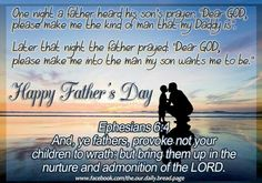 .. Fathers Day Poems, Happy Father Day Quotes, Happy Fathers Day, Prayer For Son, Dear God, Quote Of The Day, Prayers, Mothers, Holidays