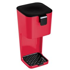 Unplugged Red Filter Coffee Maker