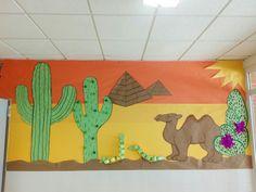 Decoración colegio el desierto