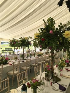 Marquee over a stable courtyard for a birthday party decoration wedding decorations flowers cricket runs country wedding marquee junglespirit Gallery