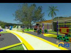 PARQUE RUA (Tulua - Valle) Parque Universal, Basketball Court, Sports, Fences, Parks, Cities, Hs Sports, Sport