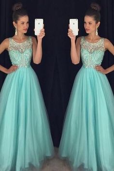 Long Prom dress Floor length Prom Dresses