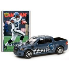 Seattle Seahawks - Shaun Alexander 2007 Upper Deck Collectibles NFL Ford SVT Adrenalin Concept with Card by Upper Deck  $12.79