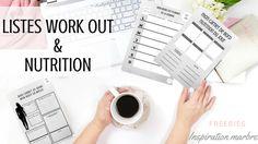 Listes Work out et Nutrition: organiser son plan d'attaque Forme