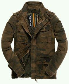 Winter camo coat