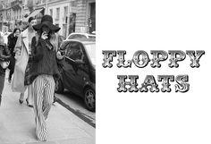 Floppy Hats - Seventies Fasion