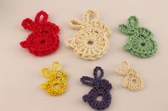 crochet bunny applique - Google 搜尋