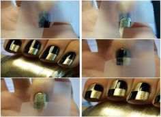 Simple instructions for colorful nail design