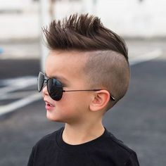 Trendy And Cute Toddler Boy Haircuts Your Kids Will Lovel 28 Little Boy Mohawk, Boys Mohawk, Cute Toddler Boy Haircuts, Boy Haircuts Short, Cool Boys Haircuts, Haircuts For Men, Shaggy Haircuts, Trendy Haircuts, Hair And Beauty