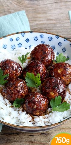 Chicken Recipes 39781 Caramelized vegetarian meatballs in soy sauce Quick Healthy Meals, Good Healthy Recipes, Healthy Chicken Recipes, Healthy Breakfast Recipes, Vegetarian Recipes, Lunch Recipes, Vegetarian Mexican, Vegetarian Dish, Recipes Dinner