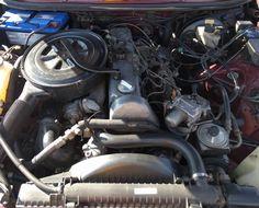 Mercedes Benz W123 300TD Engine Bay | Mercedes Benz | Mercedes benz