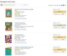 Custom Amazon Lists