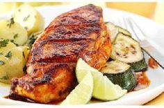 Schwartz recipe for Grilled Paprika Chicken, ingredients and recipe ideas for Chicken and American cooking. Visit Schwartz for more recipe ideas. Chicken Marinades, Chicken Recipes, Recipe Chicken, Lime Wedge, Lemon Chicken, Christmas Treats, Grilling, Paleo, Pork