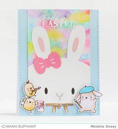 mama elephant | design blog: Favor Bag Accessory Bunny with Deasy