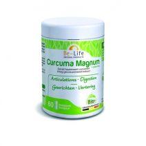Curcuma Magnum (Extrait) + piperine 3200 Bio 60 gélules - Be-Life