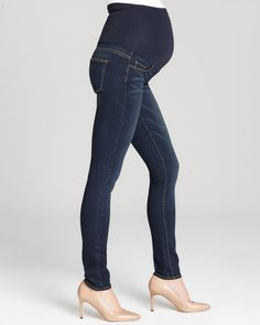 Paige Maternity Jeans - Verdugo Ultra Skinny in Armstrong