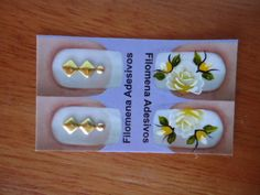 Adesivos de joias para unhas Gray Nails, Yellow Nails, Nail Jewels, Nail Arts, Spring Nails, Nails Inspiration, Projects To Try, White Nail Beds, Toenails Painted