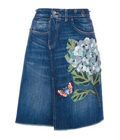 Find amazing denim skirts for women at Farfetch. Explore top jean skirts  and designer denim skirts from hundreds of exclusive boutiques.