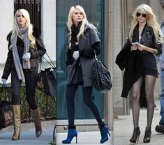 Jenny Humphrey - Gossip Girl Gossip Girl Outfits, Gossip Girl Fashion, Fashion Tv, Dark Fashion, Love Fashion, Fashion Beauty, Rocker Style, Rocker Chic, Taylor Momsen Style