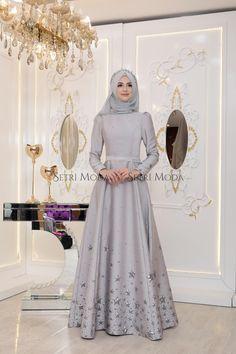 Pınar Şems Yıldız Abiye - 485,00 TL - Setri Moda Tesettür Giyim