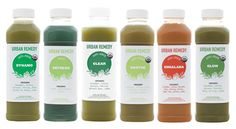 Juice Cleanse to detox and reboot
