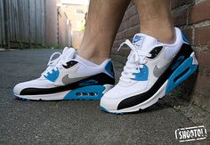 Nike Air Max 90 Blue Laser