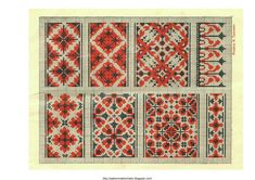 Free Easy Cross, Pattern Maker, PCStitch Charts + Free Historic Old Pattern Books: Ukrainian Embroidery 1930 - украинские вышивки 1930 (12 of 13)