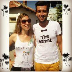 Gelin&Damat tişörtleri