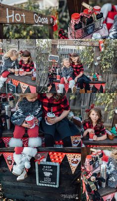 Denver Christmas Mini Session 2016  Hot cocoa stand