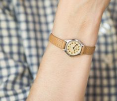 Delicate girl's watch Dawn School mechanical woman's by SovietEra